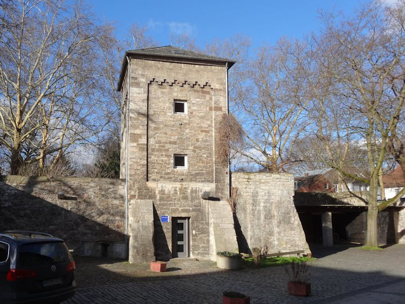 Turm des Jugendzentrum Mühle Braunschweig